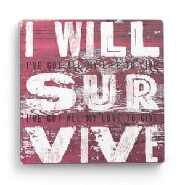 I Will Survive ~ Gloria Gaynor #lyric