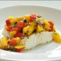 Chilean Sea Bass with Grilled Mango Salsa Recipe | Wine Pairing | Gold Medal Wine Club