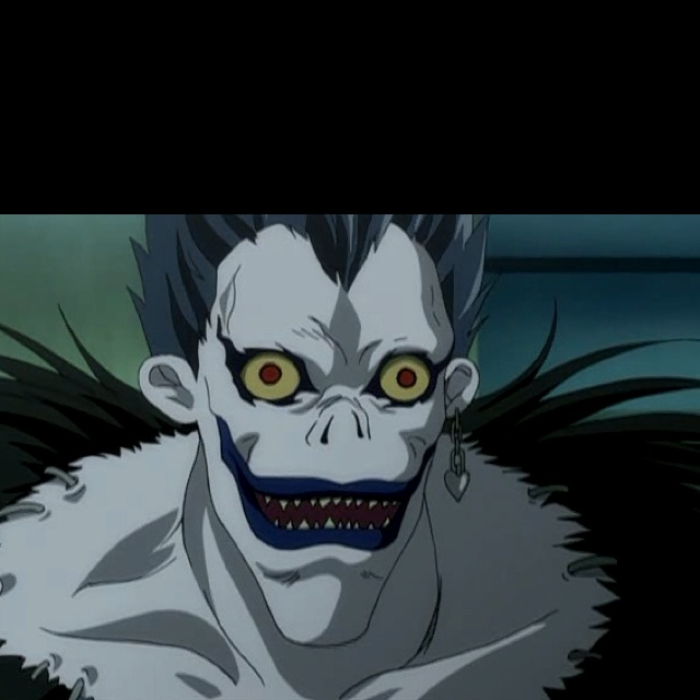 Shinigami only eat apples <3