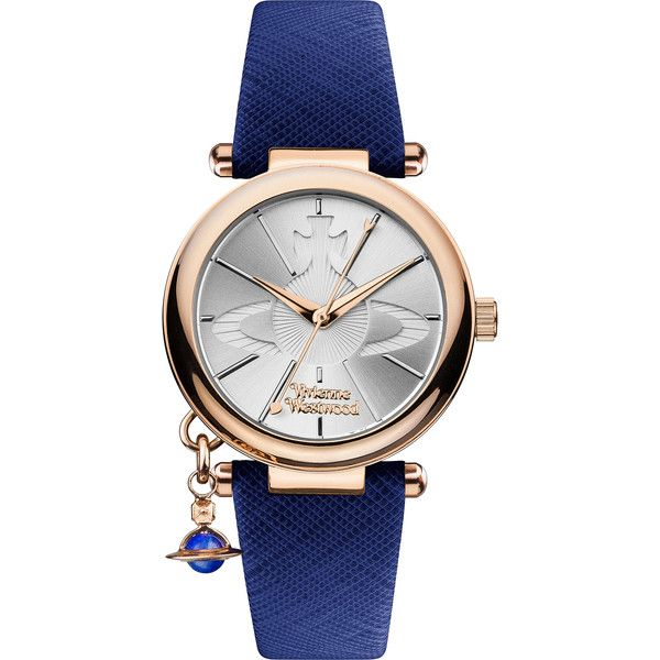 Vivienne Westwood Orb Pop Watch (1,035 MYR) ❤ liked on Polyvore featuring jewelry, watches, accessories, bracelets, vivienne westwood, vivienne westwood watches, charm watches, vivienne westwood jewellery and charm jewelry