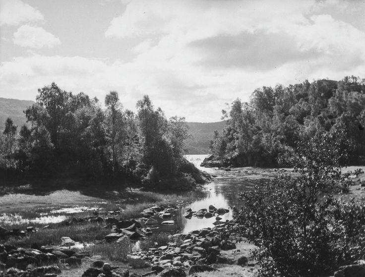 Ved Strømsnesvatnet, Askøy