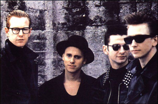 Depeche Mode.....best 80`s band ever...I just can´t get enough ❤