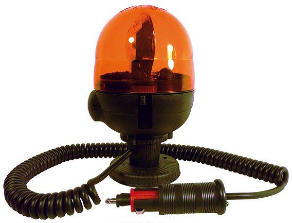 Gyrophare orange microboule magnétique #gyrophare #eclairage