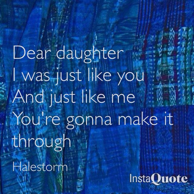 "Halestorm ""Dear Daughter"" Always Pumpkin!"