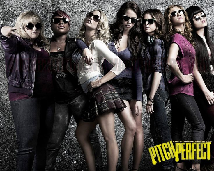 The entire cast of Pitch Perfect
