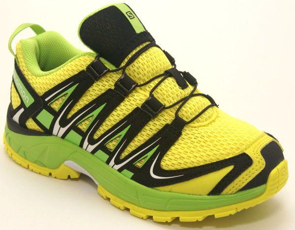Salomon Xa Pro 3d J Corona Yellow Granny Green Black Ypodhmata Paidia