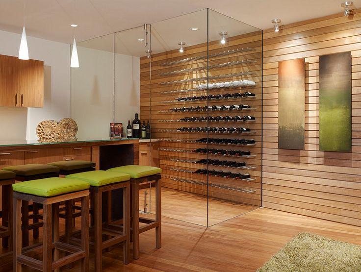Винный погреб или как организовать хранение вина в доме.   artemonblog