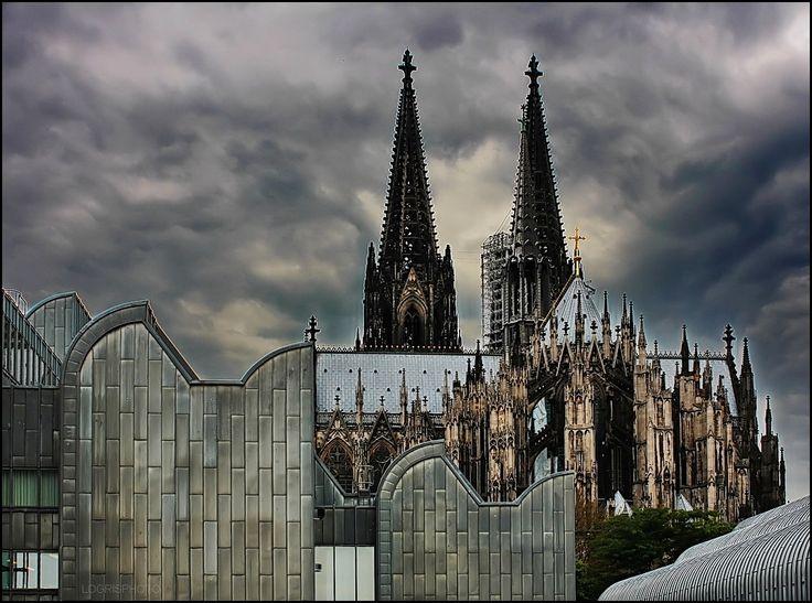 Kölner Dom / Cologne cathedral + Museum Ludwig, Köln  / Cologne, Germany