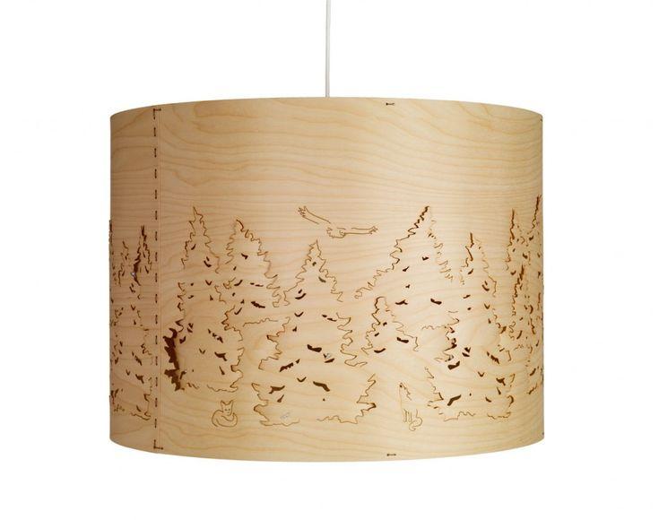 Norwegian Forest pendant lampe Taklampe Designer:  Cathrine Kullberg.  Leverandør: Northern Lighting.