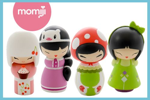Momiji's new generation 7 dolls - cute kokeshi dolls -