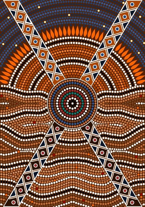 Nice Aboriginal Art from $34.99 | www.wallartprints.com.au #AboriginalArt