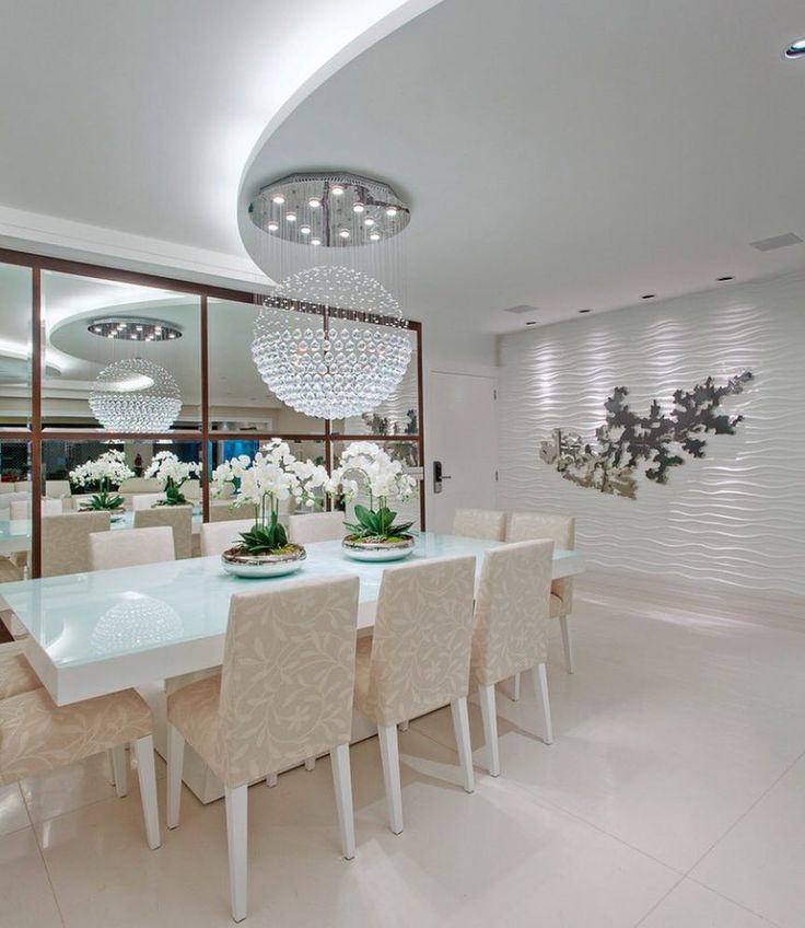 Sala de jantar clean e bela. Amei@pontodecor {HI} Snap:  hi.homeidea  http://ift.tt/23aANCi Projeto @iarakilaris #bloghomeidea #olioliteam #arquitetura #ambiente #archdecor #archdesign #hi #cozinha #kitchen #homestyle #home #homedecor #pontodecor #iphonesia #homedesign #photooftheday #love #interiordesign #interiores  #picoftheday #decoration #world #instagood  #lovedecor #architecture #archlovers #inspiration #project #regram
