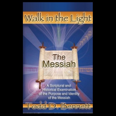 The Messiah by Todd Bennett.    This long-awaited new release from Todd Bennett is all about the Messiah! Bennett's thorough research will help you understand the man commonly known as Jesus, revealing truths you may have never been taught about His life and purpose on earth!