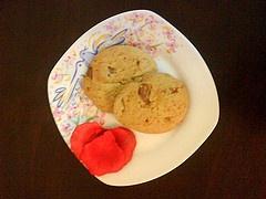 Μαλακά μπισκότα με κομματάκια σοκολάτας