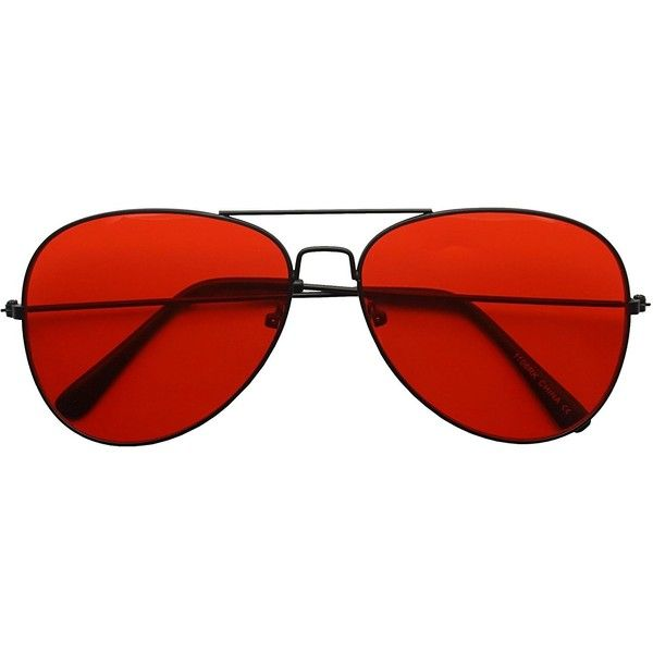 Classic Black Slim Metal Retro Red Colored Tint Transparent Lens... ($9.99) ❤ liked on Polyvore featuring accessories, eyewear, sunglasses, red sunglasses, transparent glasses, red glasses, transparent sunglasses and retro glasses