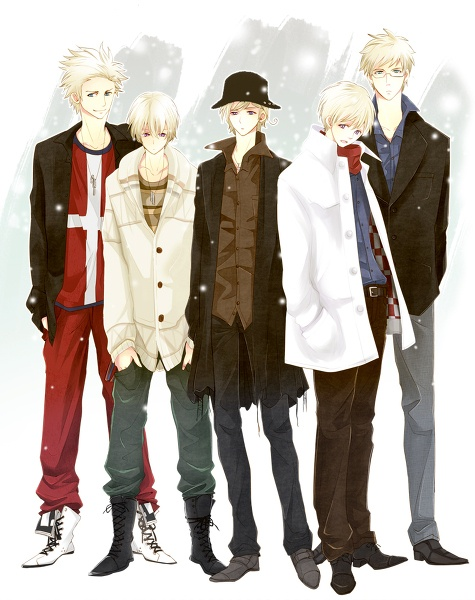Denmark, Iceland, Norway, Finland and Sweden (the Nordics) *My fave