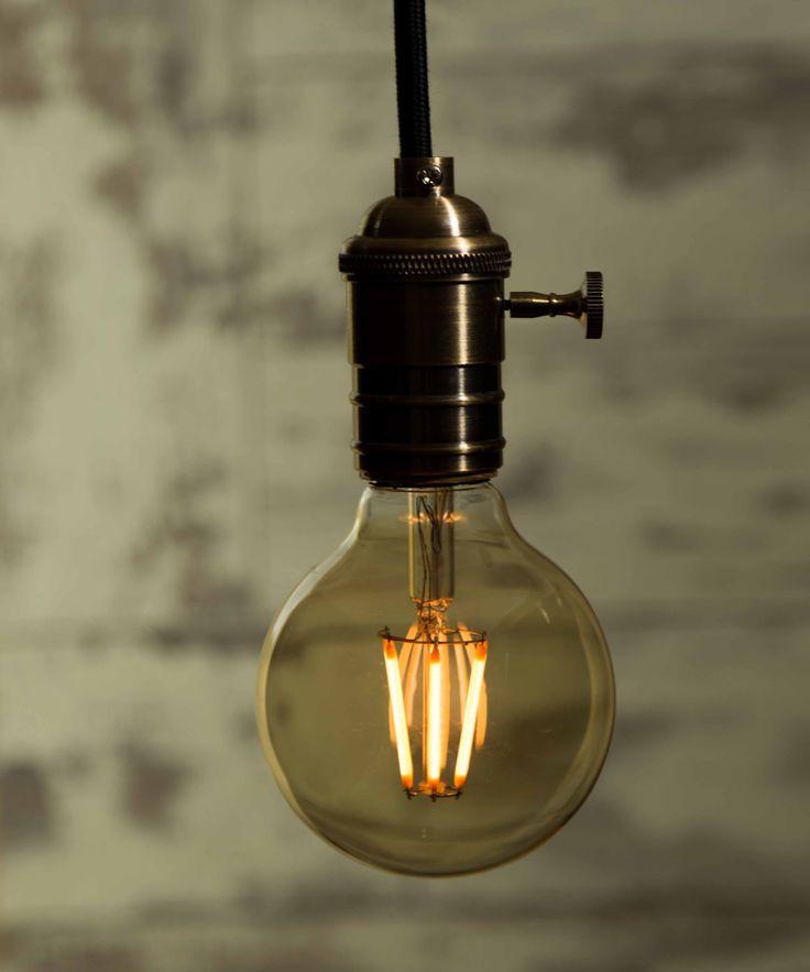 vintage light bulb led medium globe led - Vintage Light Bulbs