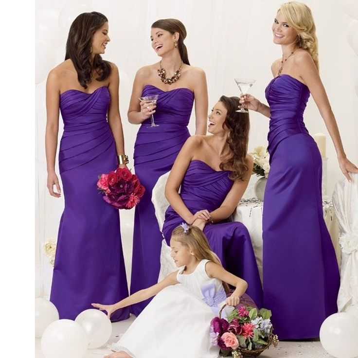 253 best bridesmaid Dresses images on Pinterest | Brautjungfern ...