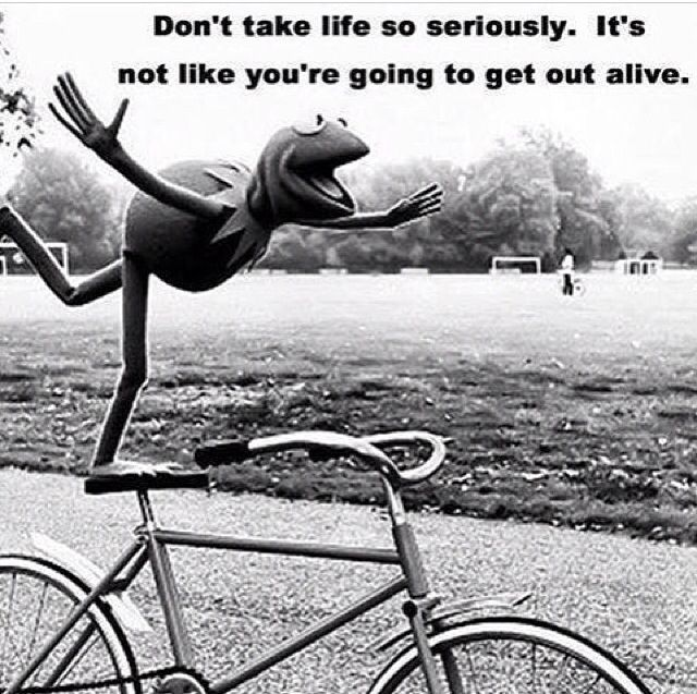 Serious Life Quotes: Kermit The Frog. Word
