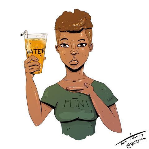 3 years ........ |  |  |   #art #artsy #artist #blackartist #blackwomen #drawing #draw #sketch #sketching #sketchbook #graphics #designer #design #illustrator #illustration #paint #painter #painting #news #flint #water #insperational #instagram #cool #message