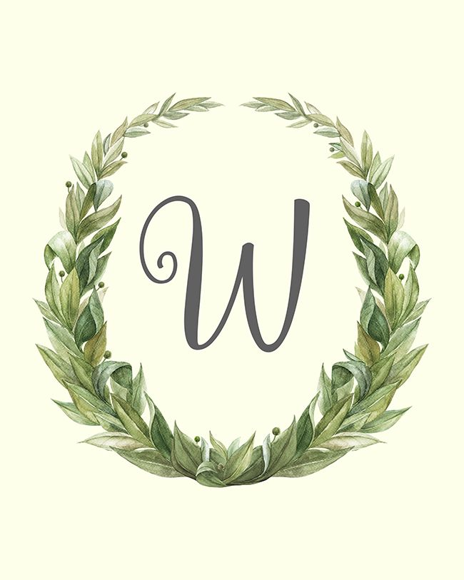 Classic Farmhouse Monogram Banner Printables