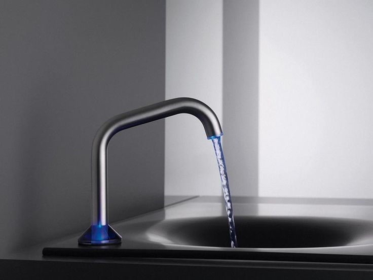 Quality Benton Faucets from Moen : Fashionable Bathroom Inspiration Faucet With Blue Led Light ~ http://modtopiastudio.com/quality-benton-faucets-from-moen/