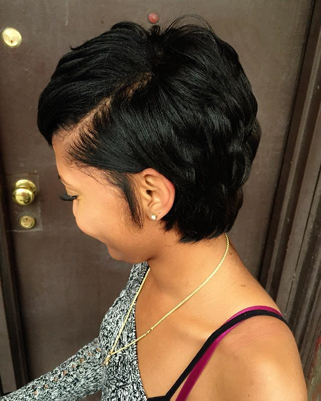 Pleasant 1000 Ideas About Short Relaxed Hairstyles On Pinterest Relaxed Short Hairstyles For Black Women Fulllsitofus