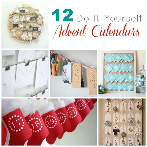 127 best Advent calendars images on Pinterest Diy advent calendar