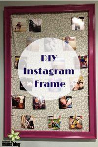DIY Instagram Frame   Burlington VT Moms Blog