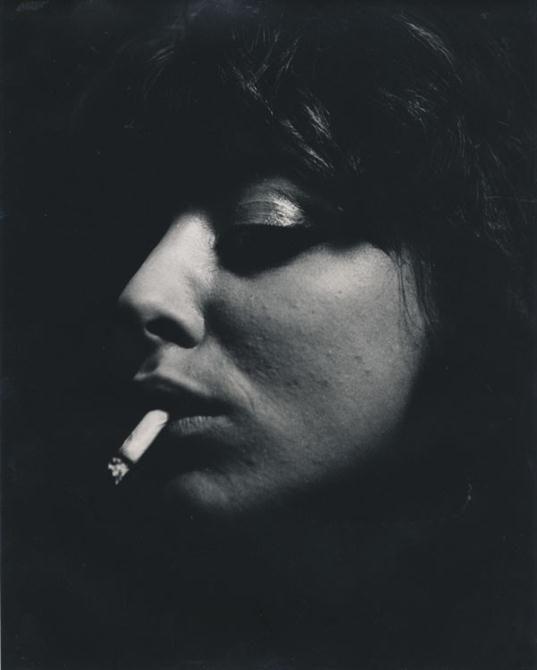ed-van-der-elsken-vali-myers-portrait-with-cigarette-paris-1950