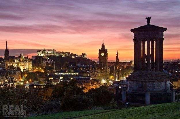 Seek out Golden Hour in the city. | 17 Unmissable Edinburgh Tips From A Local/// for when I go back ;)