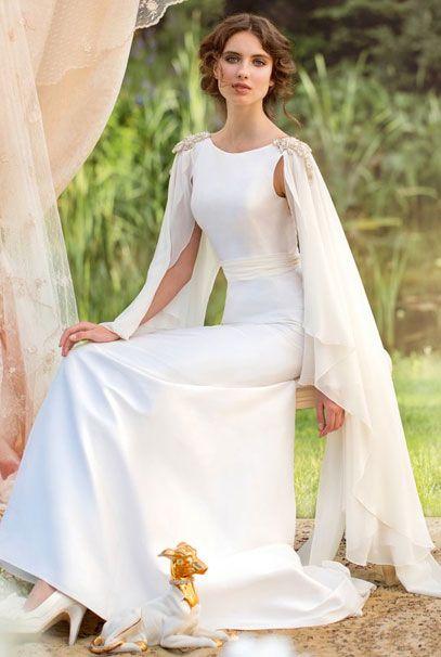 Свадебные платья Papilio в греческом стиле со шлейфом