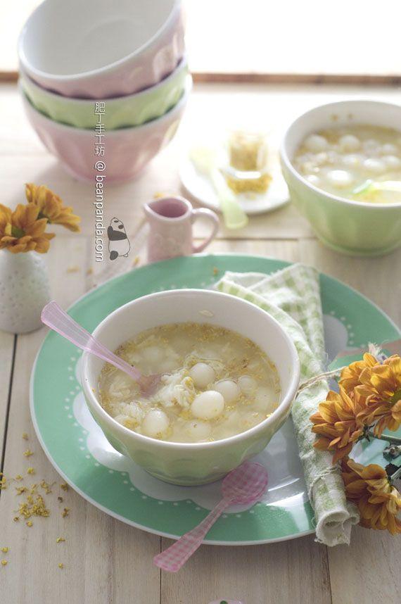 Osmanthus Jiuniang Dumplings  桂花酒釀丸子