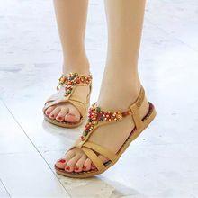Zapatos femeninos del verano mujeres Sandalias planas plana rebordea ocasional de la playa de la señora Mujer Peep Toe Sandalias planas Mujer WSH2082(China (Mainland))