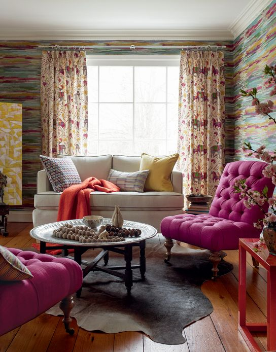 Sofa In Horizon Natural Crypton Fabric