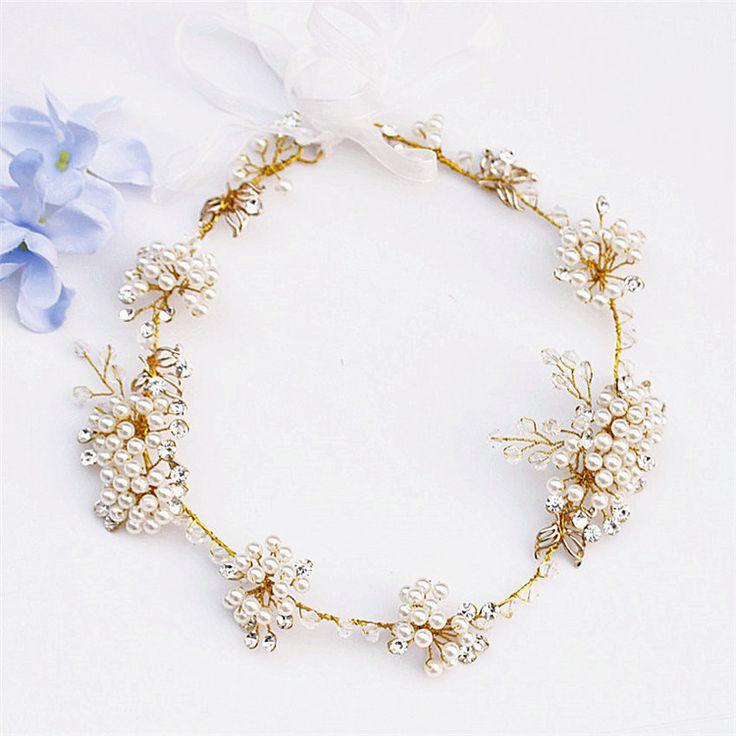 Свадебный ювелирные изделия _qaqa свадебные аксессуары для волос Свадебные украшения в стиле барокко Золотые листья корейский 7044c - Alibaba