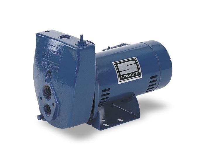 Sta-Rite SLC-L Deep Well Jet Pump, 1/2 HP