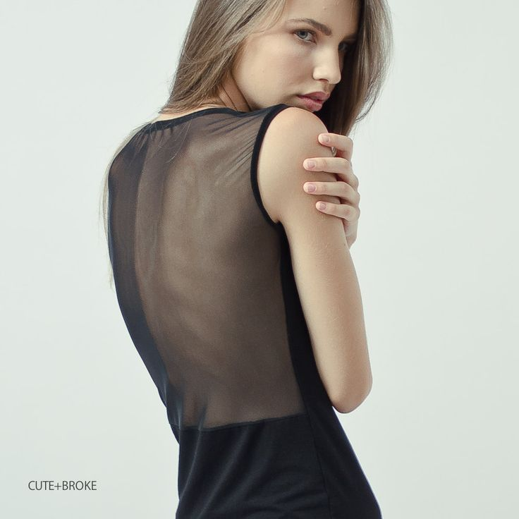 Black dress with mesh back - Body Conscious style  https://www.etsy.com/listing/108848753/black-dress-with-mesh-back-body