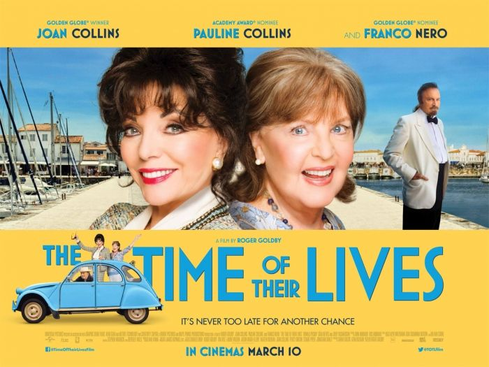 Billed as theroad movie for the silver generation, 'The Time of Their Lives' stars Collins' Joan and Pauline supported by ex-Italian stallion, Franco Nero. Clapped-out former screen go…