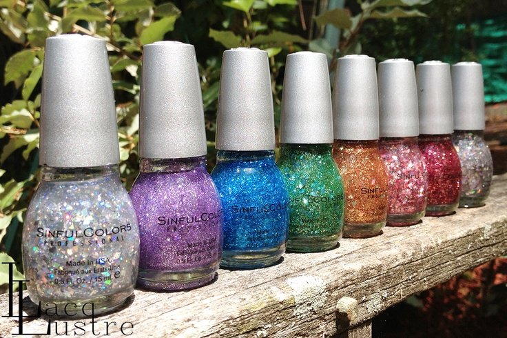 Sinful Colors Diamond Lust Collection Swatches and Review