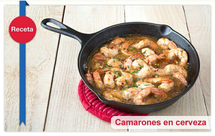 Deliciosa receta de Camarones en cerveza y salsa picante para soprender a tu pareja, ó para compartir con tus amigos en una reunión.> http://vitamar.com.co/camarones-en-cerveza-y-salsa-picante/#!prettyPhoto
