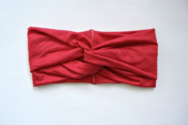 make a turban headband . sewing 101 by Lindsay at Shrimp Salad Circus