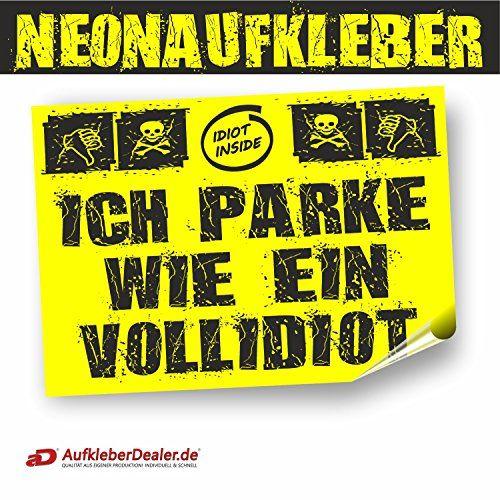 """50 Aufkleber Falschparker """"PARKIDIOT"""" in Neongelb, für de... https://www.amazon.de/dp/B079K5LL57/ref=cm_sw_r_pi_dp_U_x_LocLAb78G0G0S"""
