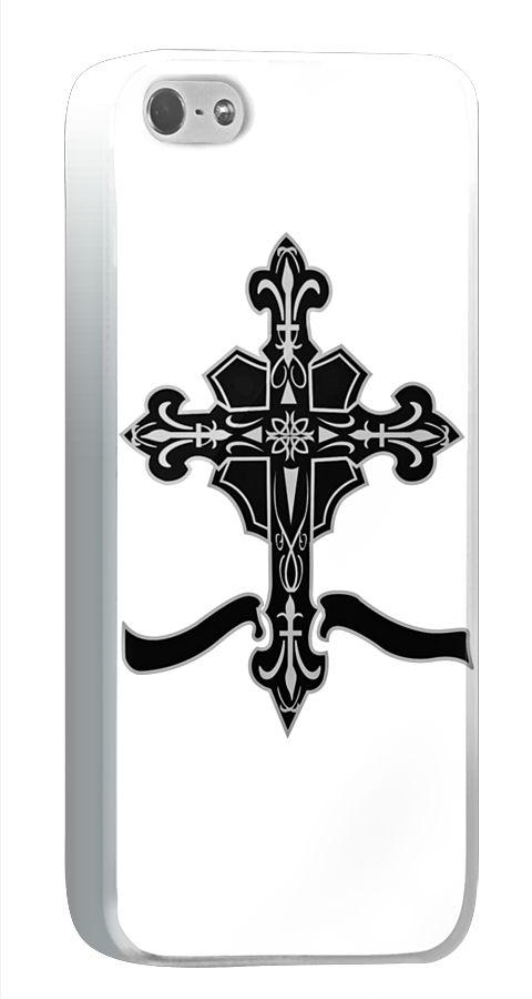 ユリの花を十字架の先端にあしらったデザインのiPhone5/5sケースです。 http://originalprint.jp/ls/219888/4106d6394529cec8621e3ff7dbe7505227fe91ec