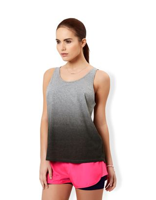 Cross Back Ombré Vest Top