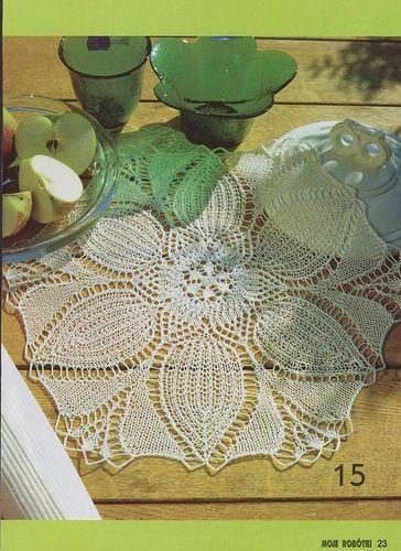 148 best kunstbreien images on Pinterest | Crochet lace, Knitting ...