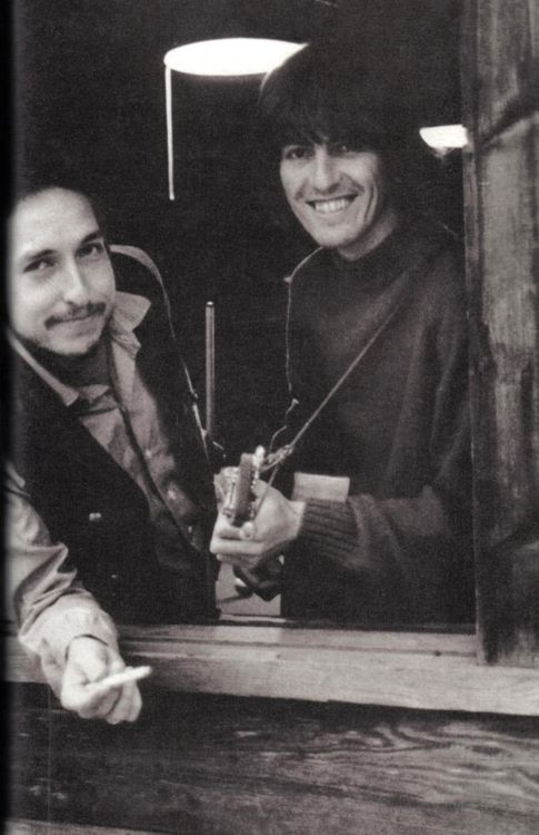 George and Bob in Woodstock NY