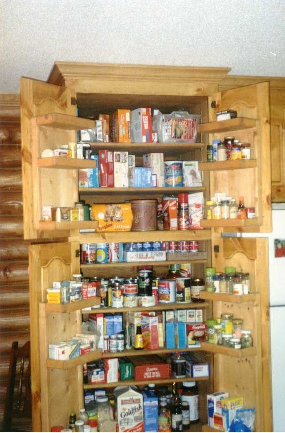 tall kitchen pantry cabinets