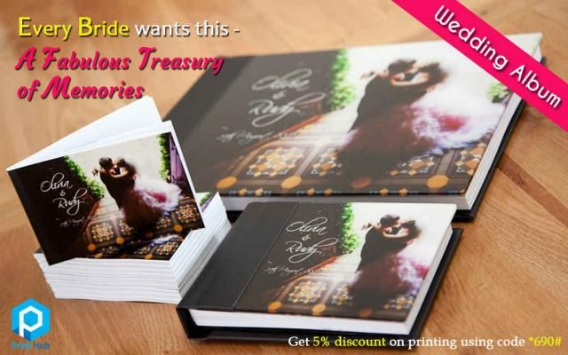 Wedding Albums from Print Hub Every person have their own dreams of marriage. Once it becomes true, they would want to treasure it with the best #album makers. We can understand your preferences for the #wedding #images and can bring to you the latest trendy album with best quality papers to have a life long treasure Tell *690# unique code with us and get 5% #discount #offer for all your printing works Contact Sathiya Ramanan – 9600919690