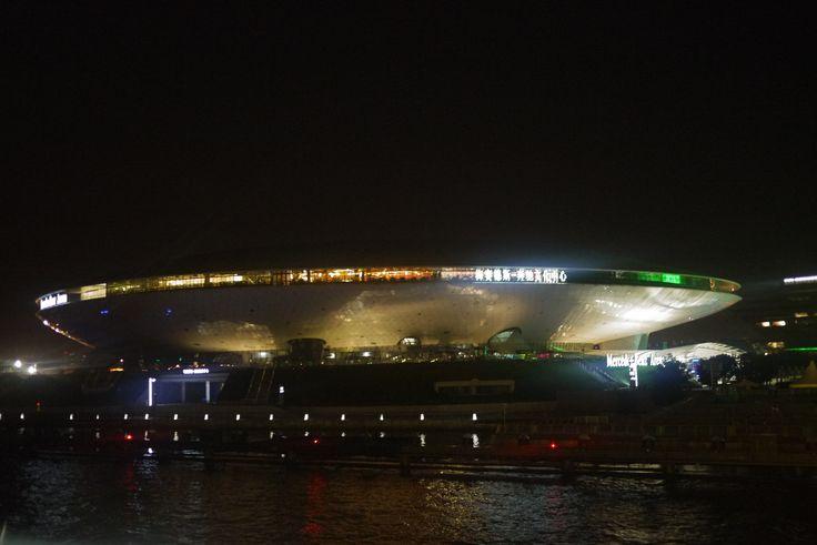 Mercedes Benz Arena, #Shanghai #UFO